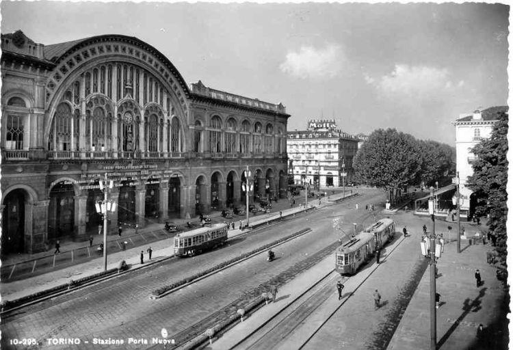 Torino stazione di porta nuova anni 39 30 - Porta cartoline ...