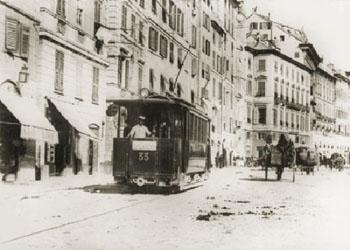 Il tram oggi innovazione e capacit di trasporto for Arredo bagno via gramsci genova
